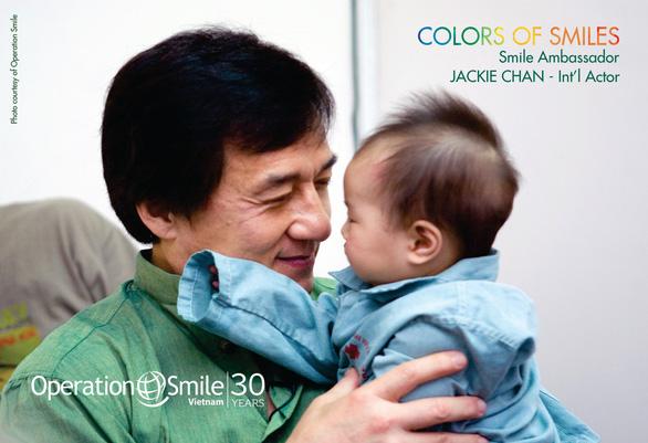 Bài Thành Long trên fanpage Operation Smile VN nhận đa số phản đối - Ảnh 1.