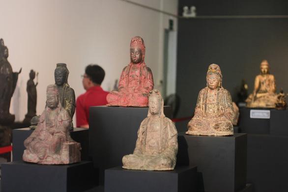 Cuộc hội ngộ của 80 pho tượng Phật cổ - Ảnh 1.