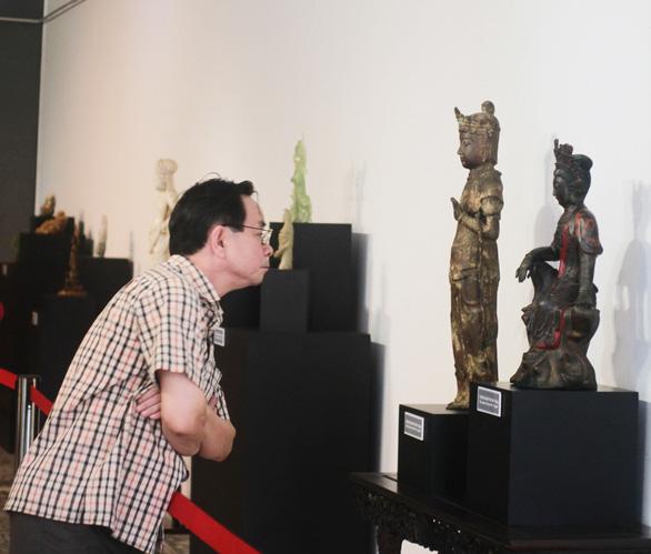 Cuộc hội ngộ của 80 pho tượng Phật cổ - Ảnh 3.
