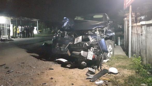 Bắt tạm giam tài xế xe bán tải gây tai nạn thảm khốc ở Phú Yên - Ảnh 1.