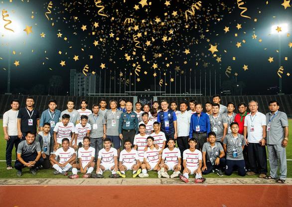 Campuchia đoạt vé dự Giải U19 châu Á 2020, chung nhóm với U19 Việt Nam - Ảnh 1.