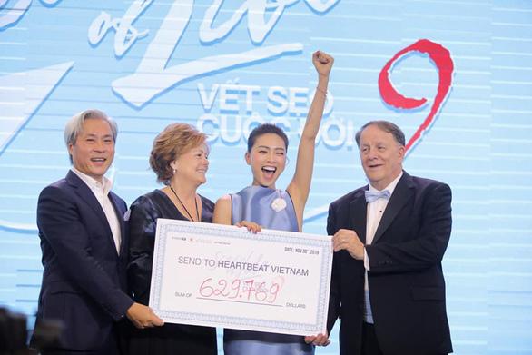 Ngô Thanh Vân quyên góp được 14,5 tỉ đồng mổ tim cho trẻ em - Ảnh 1.