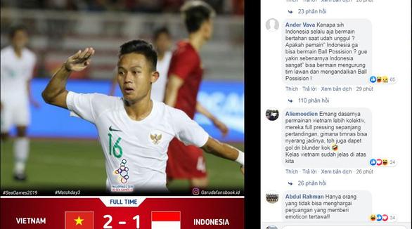 Cổ động viên Indonesia: Đá với Việt Nam mà cứ tưởng đá với Hàn Quốc - Ảnh 1.