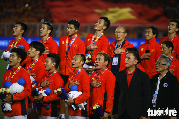 Quang Hải lỡ cơ hội thi đấu trong phút cuối trận thắng U22 Indonesia - Ảnh 10.