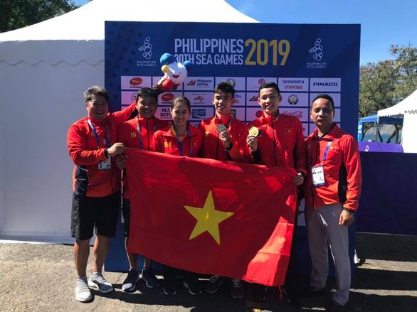 SEA Games ngày 10-12: Giành thêm 16 huy chương vàng, Việt Nam vượt qua Thái Lan xếp thứ 2 - Ảnh 8.