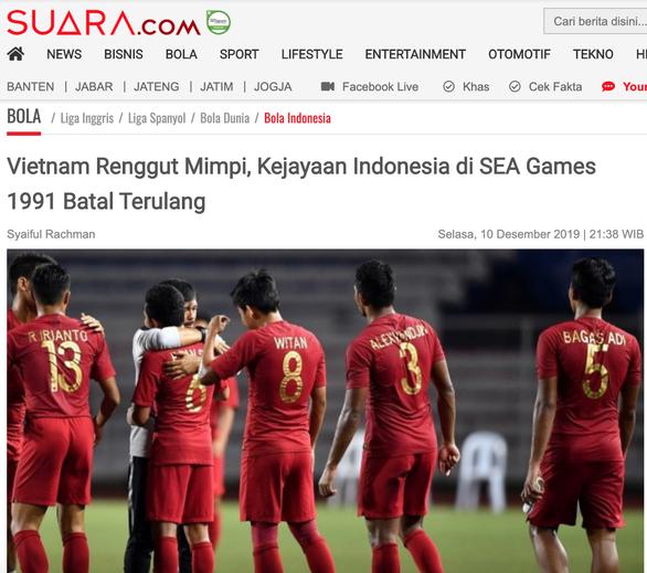 Báo Indonesia: Việt Nam làm tiêu tan giấc mơ vàng của chúng ta - Ảnh 1.