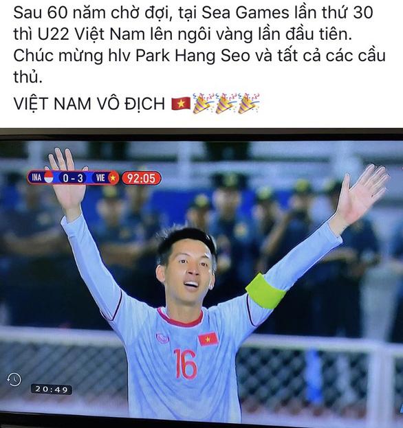 Mạng xã hội vỡ oà niềm vui chiến thắng: Việt Nam vô địch! - Ảnh 17.