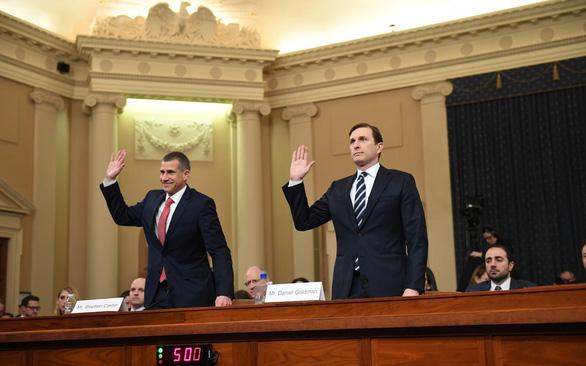 Luật sư Dân chủ và Cộng hòa đấu nhau suốt 10 tiếng về luận tội tổng thống - Ảnh 2.