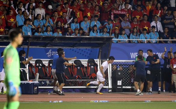 Quang Hải lỡ cơ hội thi đấu trong phút cuối trận thắng U22 Indonesia - Ảnh 1.