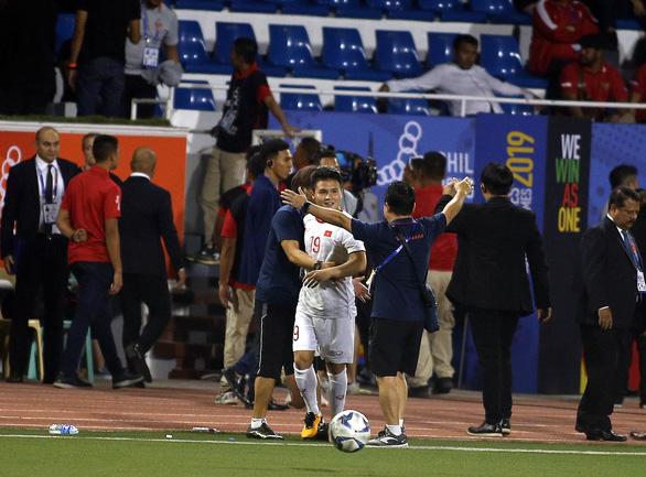 Quang Hải lỡ cơ hội thi đấu trong phút cuối trận thắng U22 Indonesia - Ảnh 3.