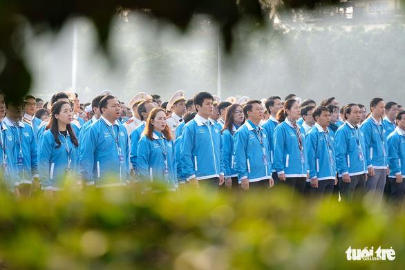 1.000 đại biểu hội quân hành trình Tôi yêu Tổ quốc tôi - Ảnh 7.