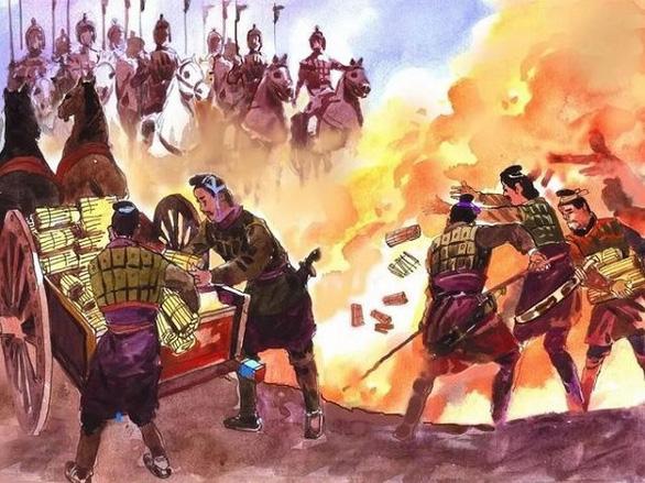 Thư viện Trung Quốc đốt sách, dân mạng ví như... thời Tần Thủy Hoàng - Ảnh 2.