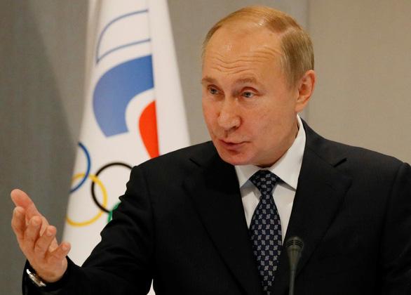 Tổng thống Putin lên tiếng vụ Nga bị cấm thi Olympic và World Cup - Ảnh 1.