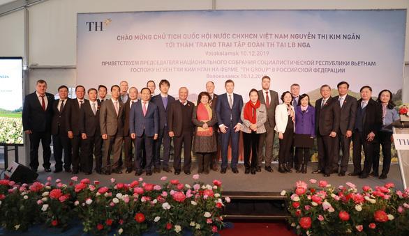 Chủ tịch Quốc hội thăm dự án sữa của doanh nghiệp Việt ở Nga - Ảnh 3.