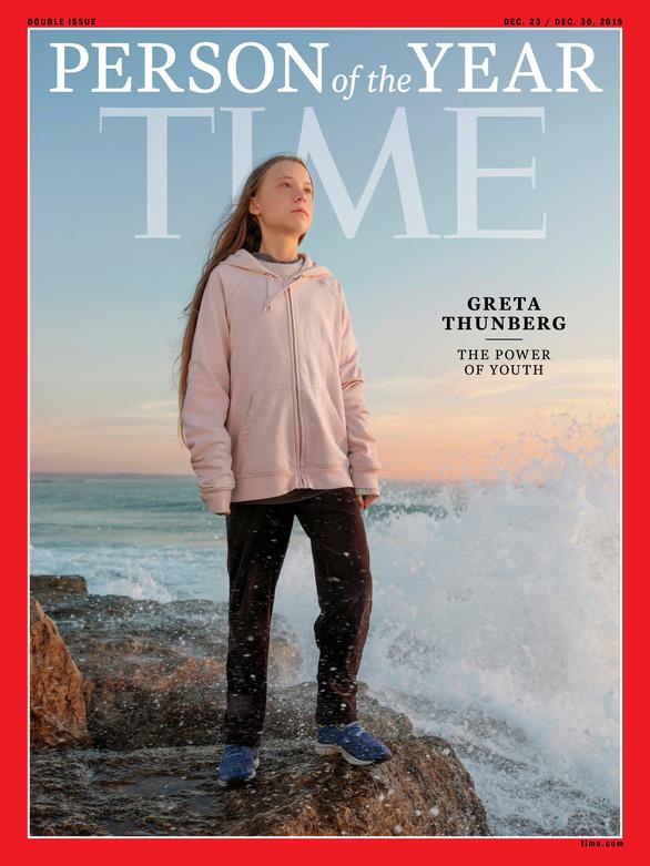 Tạp chí Time vinh danh nữ sinh Greta Thunberg - Ảnh 1.