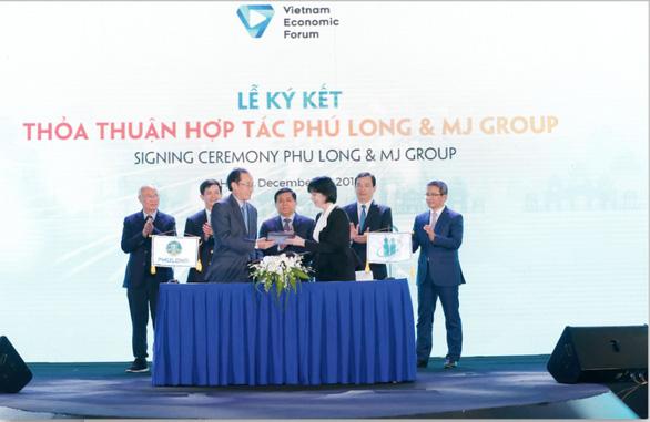 Phú Long hợp tác MJ Group phát triển dịch vụ chăm sóc sức khỏe, sắc đẹp - Ảnh 1.
