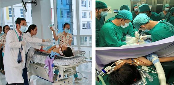 10 ca cấp cứu ấn tượng của ngành y tế TP.HCM năm 2019 - Ảnh 1.