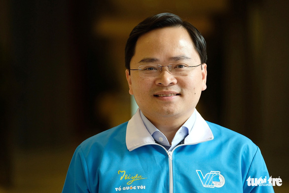 Anh Nguyễn Anh Tuấn là tân chủ tịch Hội Liên hiệp thanh niên Việt Nam khóa VIII - Ảnh 1.