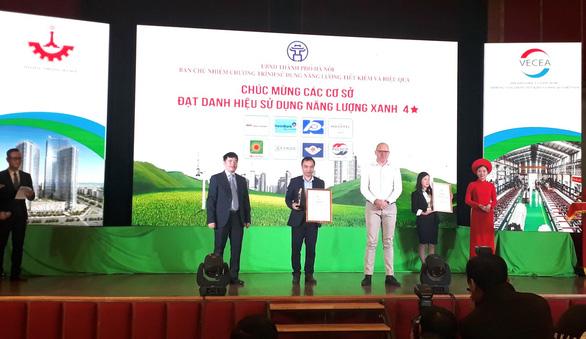 MM Mega Market Thăng Long đạt danh hiệu Năng Lượng Xanh Hà Nội 2019 - Ảnh 1.