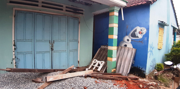 Đập bỏ, xây mới ở làng bích họa Tam Thanh - Ảnh 5.