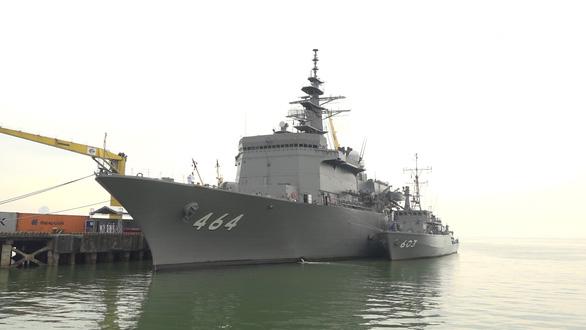 Tàu quét mìn Nhật Bản thăm thành phố Đà Nẵng - Ảnh 1.