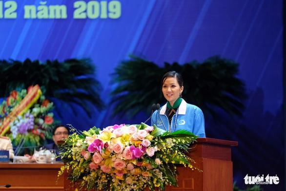 HHen Niê đọc thư đại hội gửi hội viên, thanh niên cả nước - Ảnh 1.