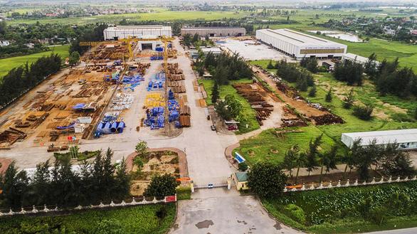 Tiếng nổ lớn phát ra, một công nhân chết tại nhà máy chế tạo thiết bị Lilama - Ảnh 1.