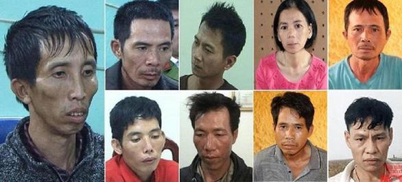 Nhóm bị cáo cưỡng bức, sát hại nữ sinh giao gà hầu tòa sáng 26-12 - Ảnh 1.
