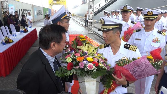 Tàu quét mìn Nhật Bản thăm thành phố Đà Nẵng - Ảnh 2.