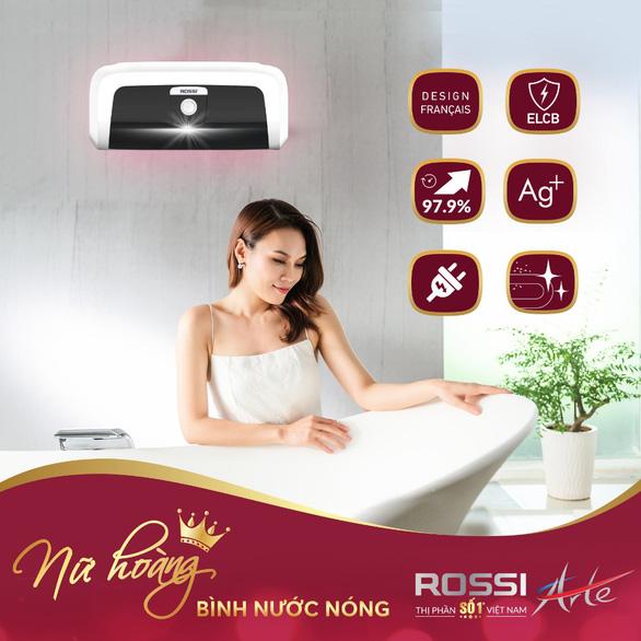 Hơn 100.000 bình nước nóng Rossi được tiêu thụ trong tháng 11 - Ảnh 1.