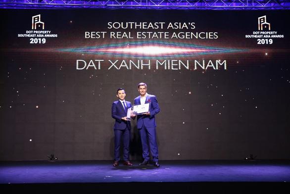 Đất Xanh Miền Nam đoạt giải Best Real Estate Agencies Southeast Asia 2019 - Ảnh 1.