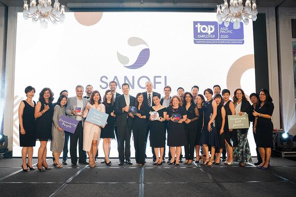 Sanofi Việt Nam 2 năm liền được vinh danh là nhà tuyển dụng hàng đầu - Ảnh 1.
