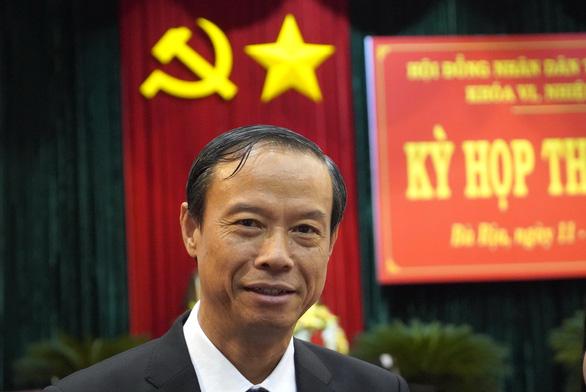 Ông Nguyễn Văn Thọ giữ chức chủ tịch UBND tỉnh Bà Rịa - Vũng Tàu - Ảnh 1.