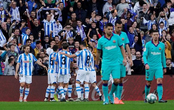 Messi chơi mờ nhạt, Barcelona bị cầm chân - Ảnh 2.