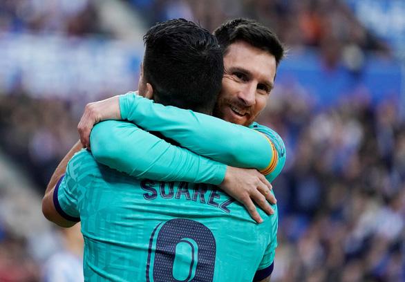 Messi chơi mờ nhạt, Barcelona bị cầm chân - Ảnh 1.
