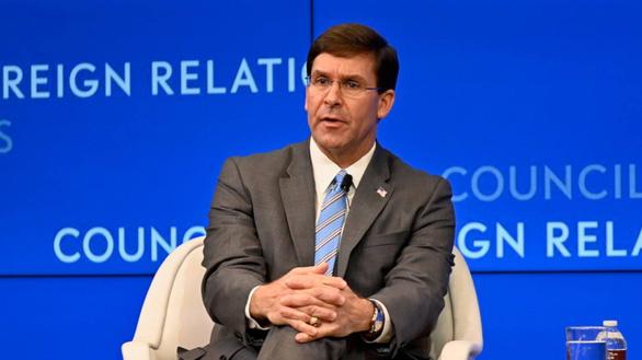Bộ trưởng Quốc phòng Mỹ lên án Trung Quốc xâm phạm chủ quyền các nước nhỏ - Ảnh 1.
