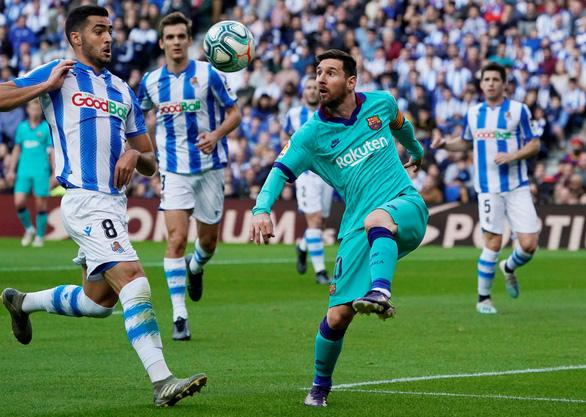 Messi chơi mờ nhạt, Barcelona bị cầm chân - Ảnh 3.