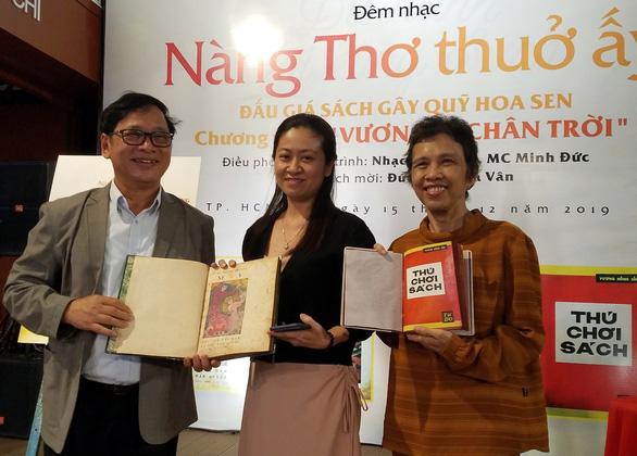 Thú chơi sách của Vương Hồng Sển thắng đấu giá 35 triệu đồng - Ảnh 1.