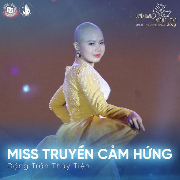 Nữ sinh bị ung thư giành giải Miss Truyền cảm hứng - Ảnh 1.