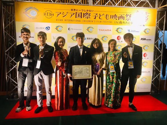 THPT Việt Đức giành giải xuất sắc Liên hoan phim thiếu nhi quốc tế châu Á - Ảnh 1.