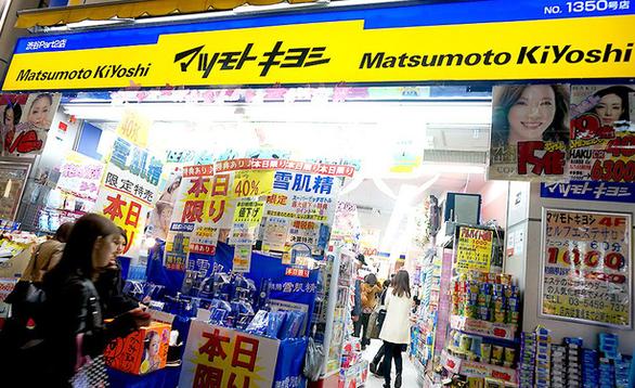 Chuỗi cửa hàng dược, mỹ phẩm lớn nhất Nhật Bản đến Việt Nam - Ảnh 1.