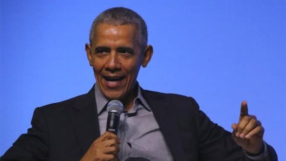 Cựu tổng thống Obama: Phụ nữ giỏi hơn đàn ông! - Ảnh 1.