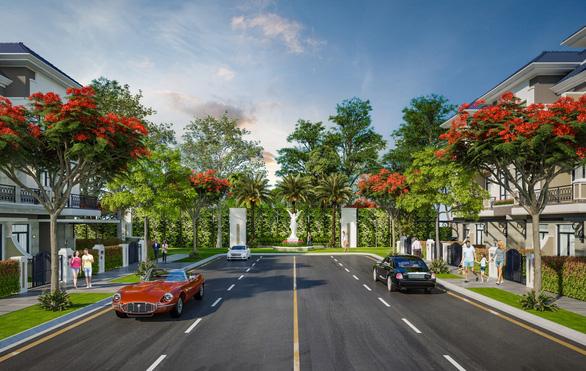 Verosa Park - Khang Điền khai trương nhà mẫu: dấu ấn kiến trúc tân cổ điển - Ảnh 6.