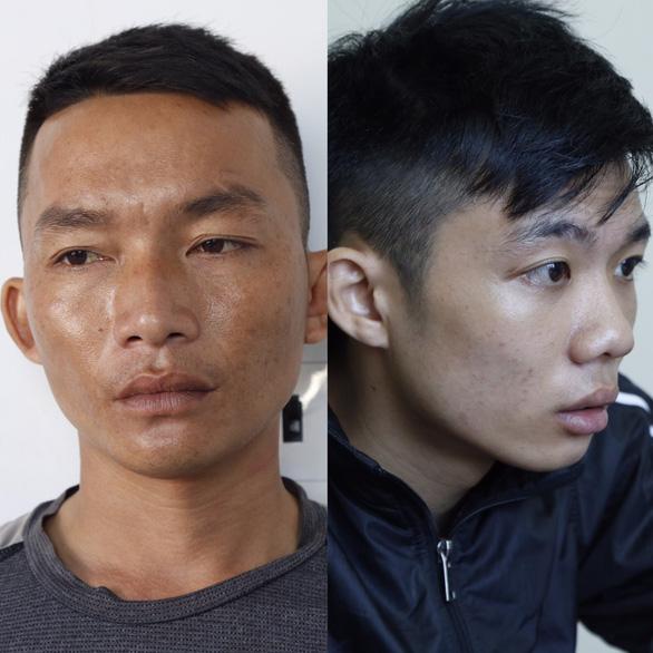 Hai nghi phạm đâm chết người tại Bình Dương ra đầu thú - Ảnh 1.