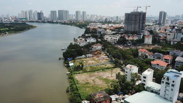 TP.HCM tổng kiểm tra 101 dự án ở 9 quận huyện sát sông Sài Gòn - Ảnh 1.