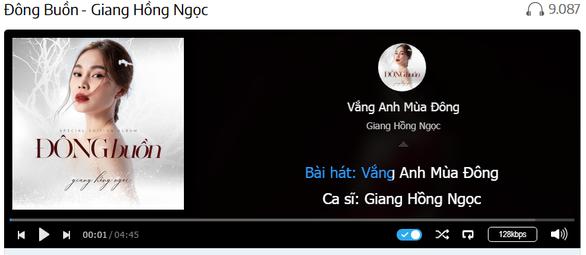 Giang Hồng Ngọc ra mắt MV 'Tình đến rồi đi' và album Giáng sinh 'Đông buồn' - Ảnh 5.