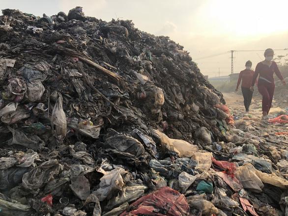 Mục sở thị con đường ô nhiễm nhất Việt Nam - Ảnh 3.