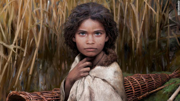 Cô gái 5.700 năm trước được phục dựng bản đồ gen nhờ bã kẹo cao su - Ảnh 1.