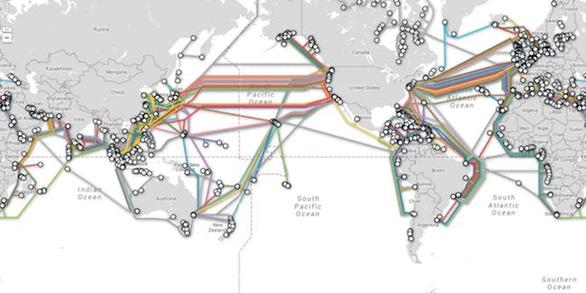 Những đại lộ siêu tốc dưới đáy đại dương - Kỳ 1: Sợi cáp quang thay tàu đưa thư - Ảnh 3.