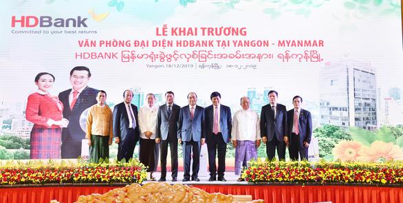HDBank khai trương văn phòng đại diện tại Myanmar - Ảnh 1.